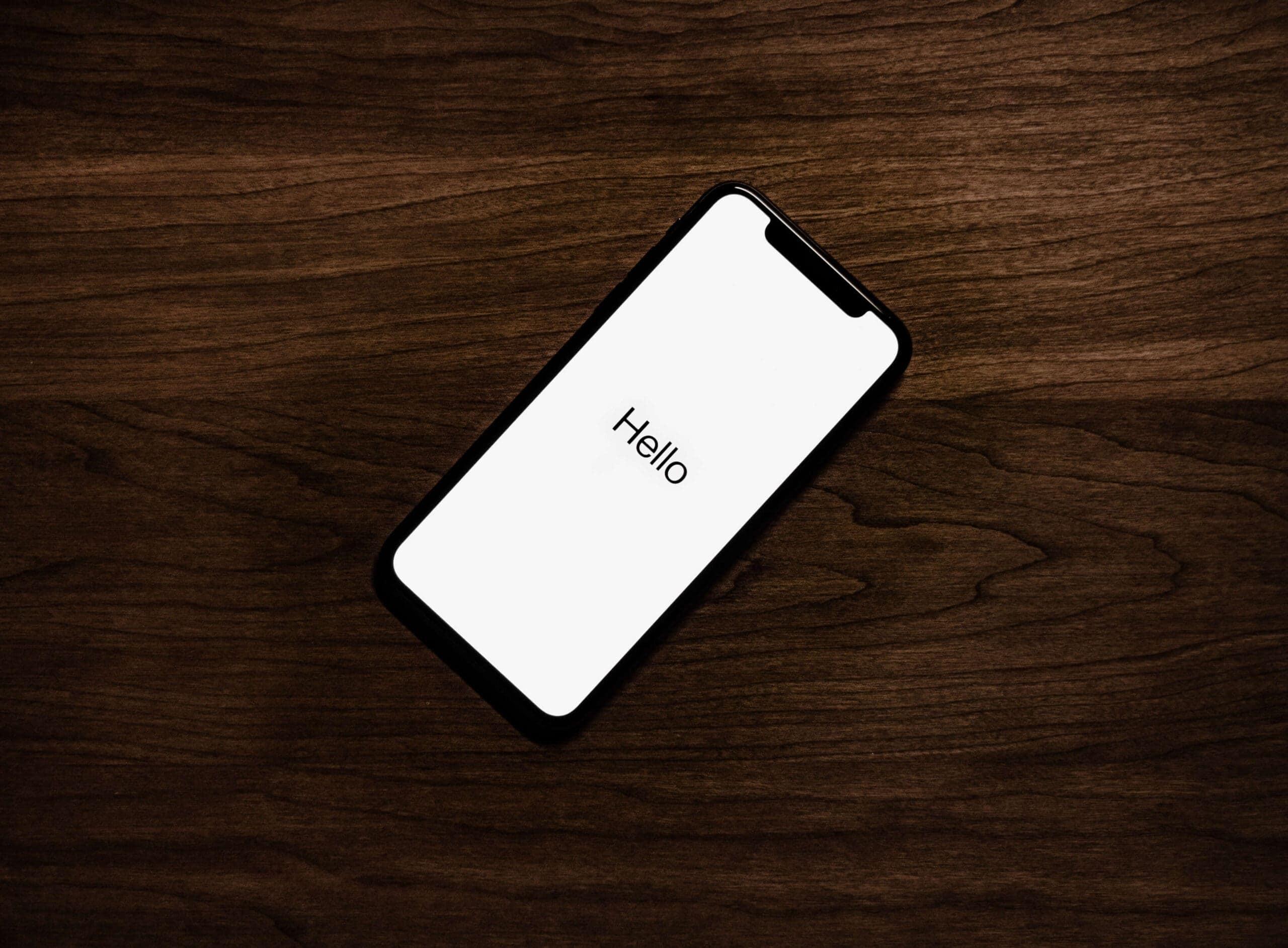 Zawieszanie iphone